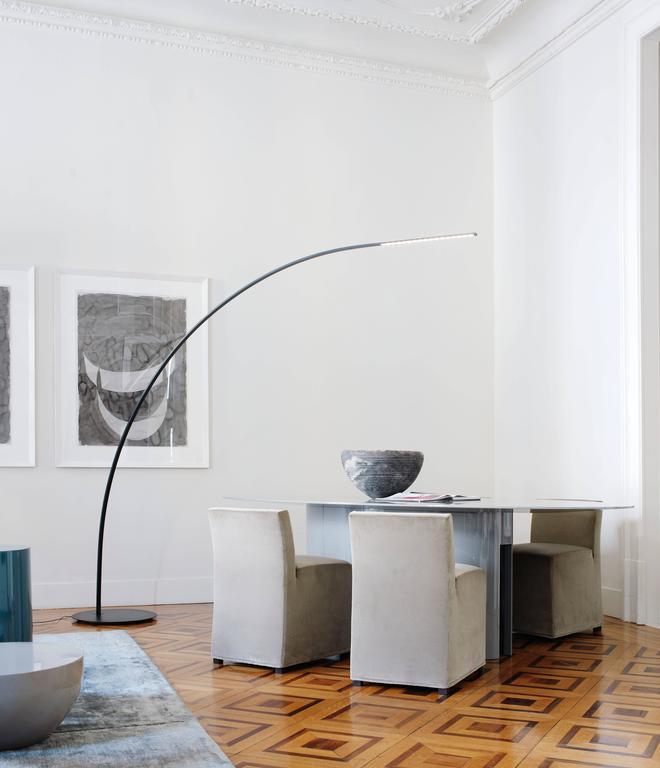 Yumi Carbon Fiber Floor Lamp By Shigeru Ban For Fontana