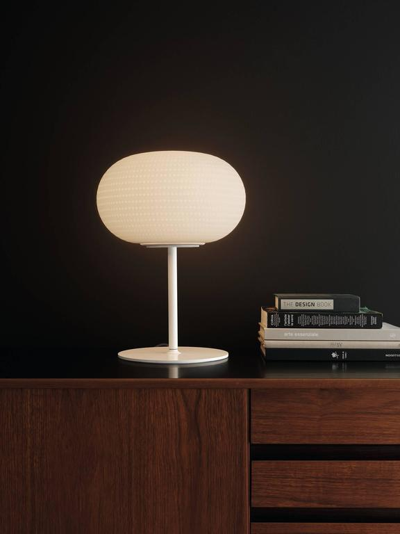 Bianca Medium Table Lamp With Stem By Matti Klenell From