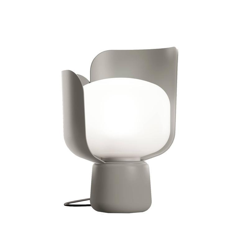 Aluminum BLOM Table Lamp Designed by Andreas Engesvik for Fontana Arte For Sale