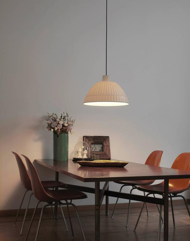 Modern Fontana Arte Cloche Suspension Lamp in Plastic Polymer, 2014 Edition For Sale
