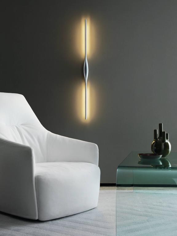 fontana arte lighting. karim rashid fontana arte apex wall lamp in metal and polymer, 2017 2 lighting