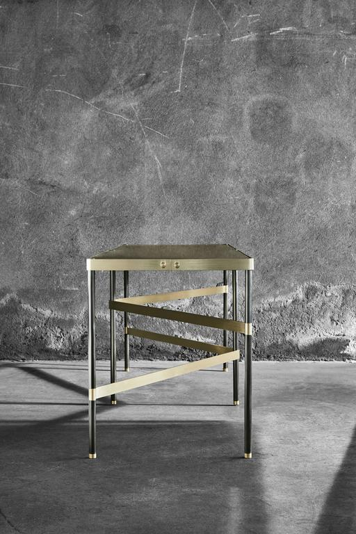Contemporary Twine Iron Bench Designed by Alessandro Stabile for Mingardo For Sale
