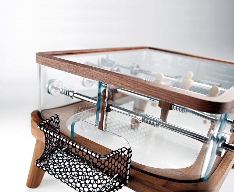Modern Intervallo Foosball Coffee Table by Adriano Design for Teckell For Sale