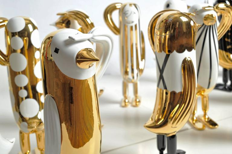 Italian Hopebird Sculpture Special Editions, Jaime Hayon by Bosa For Sale