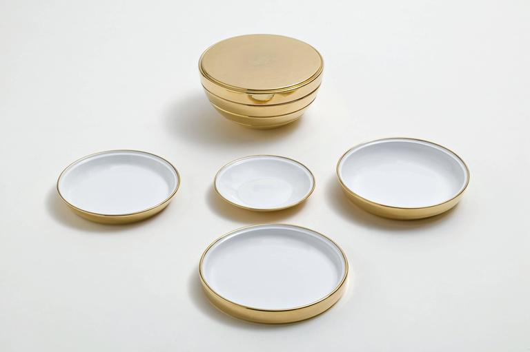 Giulietta E Romeo Set of Plates for Two People by Bosa For Sale 2