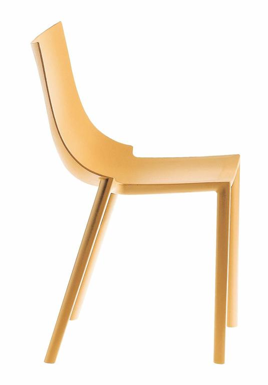 bo stackable colored chair designed by philippe starck for driade for sale at 1stdibs. Black Bedroom Furniture Sets. Home Design Ideas