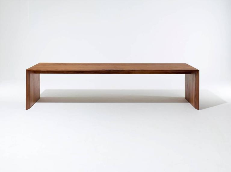 "American ""C"" Dining Table by Chiara Ferrari For Sale"