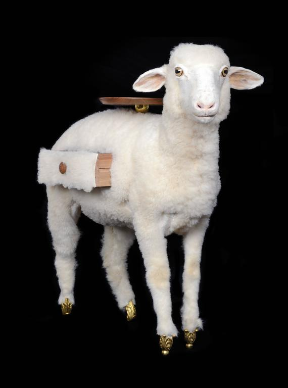 Spanish XAI Limited Edition Lambs by BD Barcelona and Gala Salvador Dalí Foundation For Sale