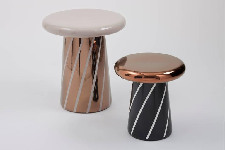 Set of Three T-Tables Special Edition #2 Designed by Jaime Hayon for Bosa 2