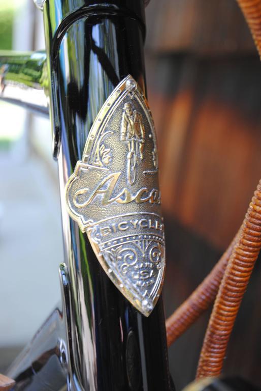 American Rare Ascari Copper Custom Bicycle For Sale