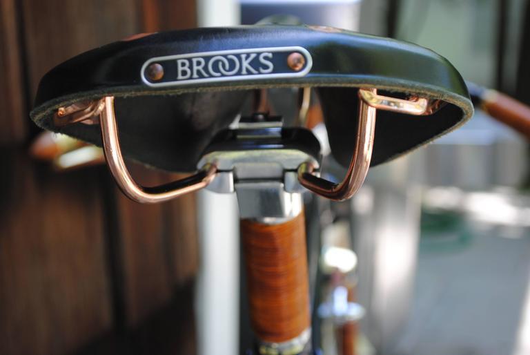 Rare Ascari Copper Custom Bicycle For Sale 1