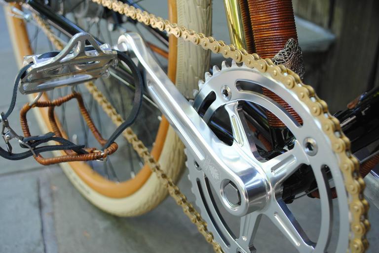 Rare Ascari Copper Custom Bicycle For Sale 2