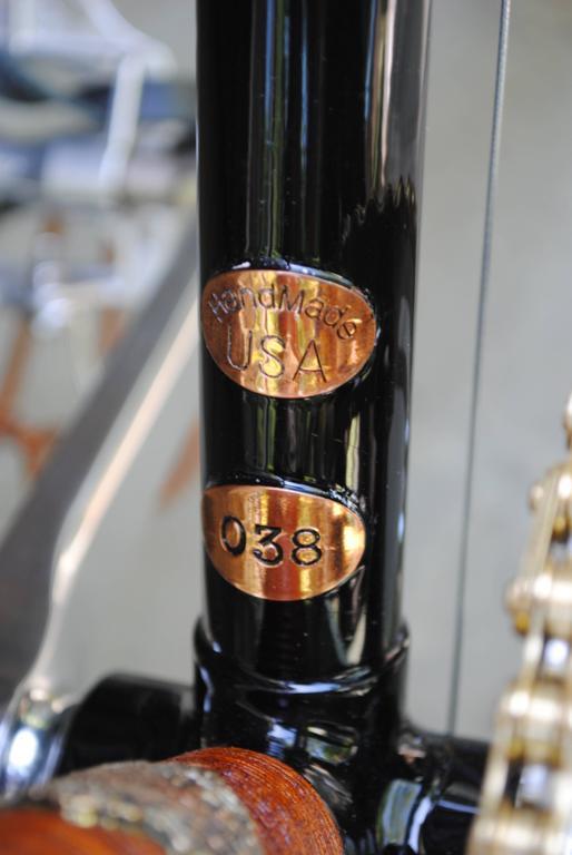 Rare Ascari Copper Custom Bicycle For Sale 3