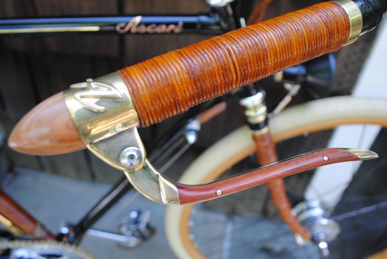 Rare Ascari Copper Custom Bicycle For Sale 5