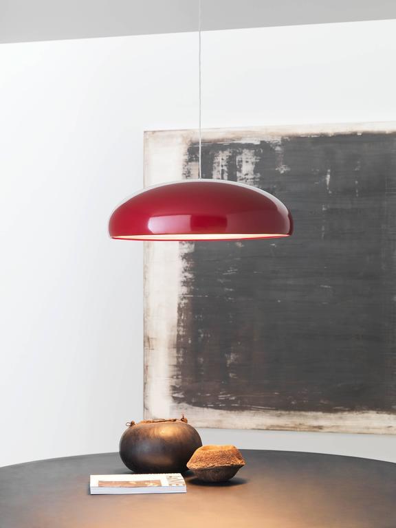 pangen suspension lamp by fontana arte for sale at 1stdibs. Black Bedroom Furniture Sets. Home Design Ideas
