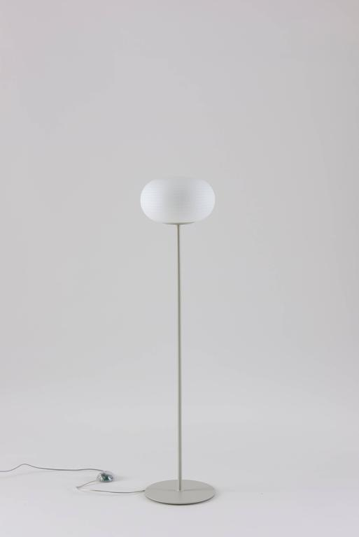 Matti klenell fontana arte bianca floor lamp in blown glass designed by matti klenell in 2015 and manufactured by fontana arte the bianca floor lamp aloadofball Images