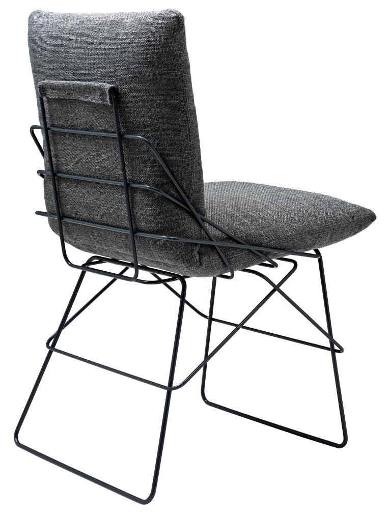 enzo mari driade sof sof chair in graphite grey 1972 for sale at 1stdibs. Black Bedroom Furniture Sets. Home Design Ideas