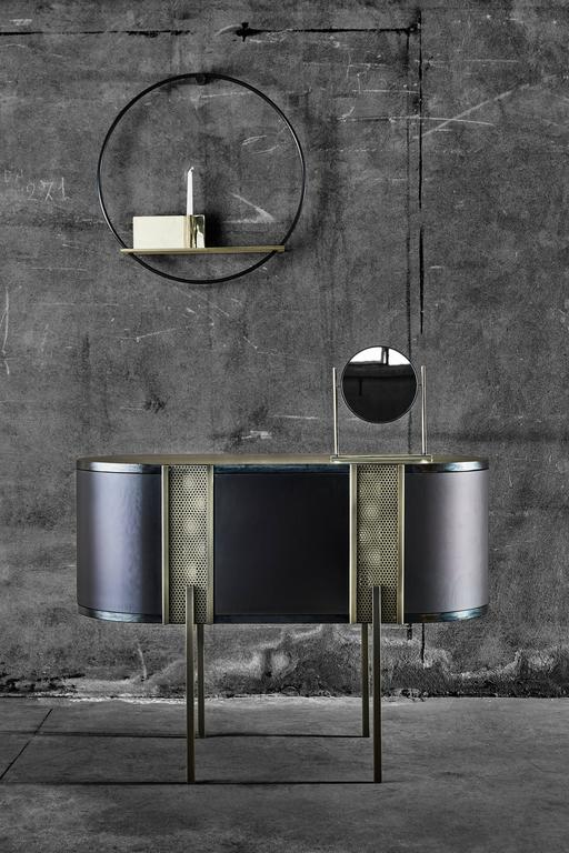 Believe Metal Sideboard by Lorenza Bozzoli for Mingardo For Sale 2