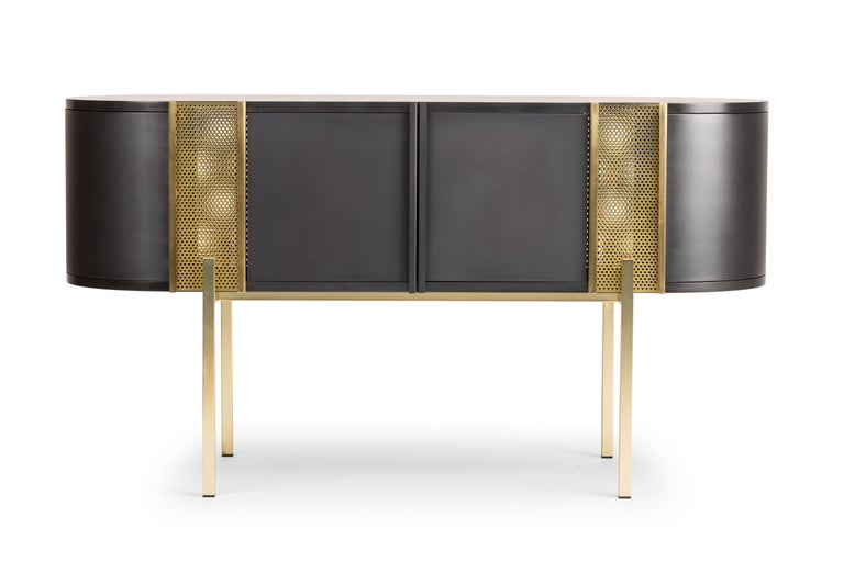 Believe Metal Sideboard by Lorenza Bozzoli for Mingardo For Sale 7