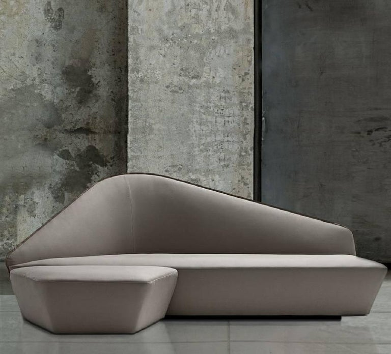 """""""Verlaine"""" Left and Right Sensuous Sofa by Lievore Altherr Molina for Driade 10"""