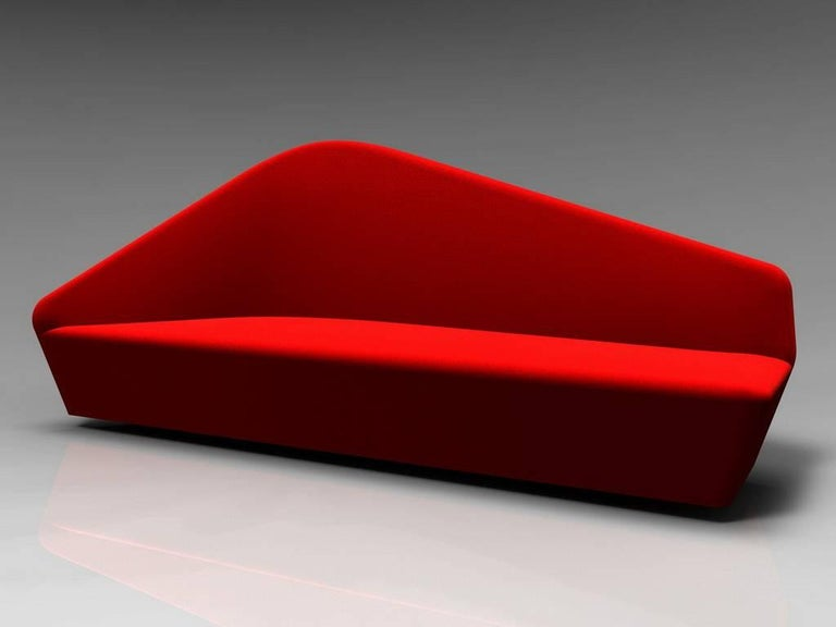"""""""Verlaine"""" Left and Right Sensuous Sofa by Lievore Altherr Molina for Driade 2"""