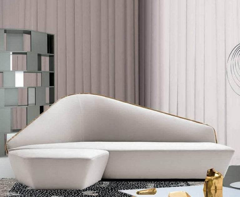 """""""Verlaine"""" Left and Right Sensuous Sofa by Lievore Altherr Molina for Driade 8"""