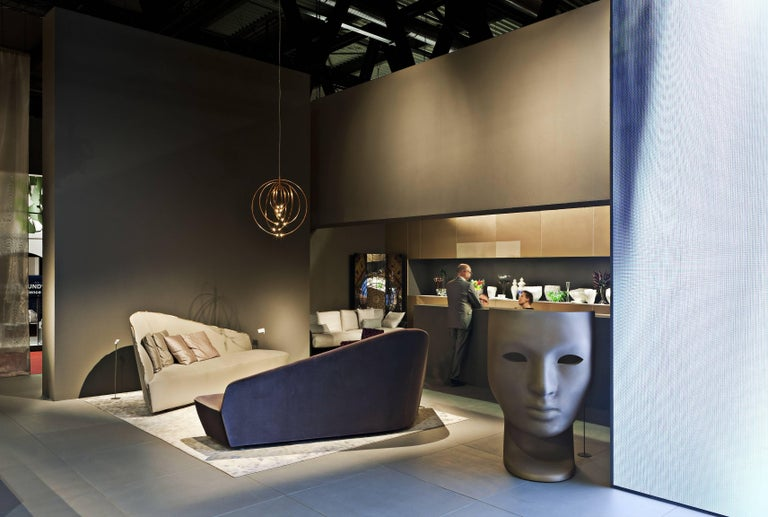 """""""Verlaine"""" Left and Right Sensuous Sofa by Lievore Altherr Molina for Driade 5"""
