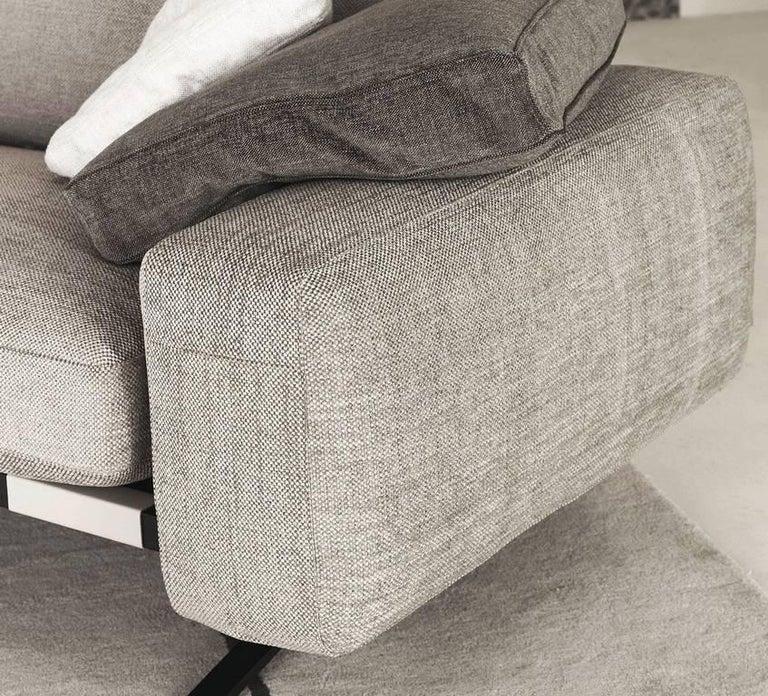 "Composite Leather Sofa: ""Fenix"" Right Or Left Composite Set Sofa Designed By L"