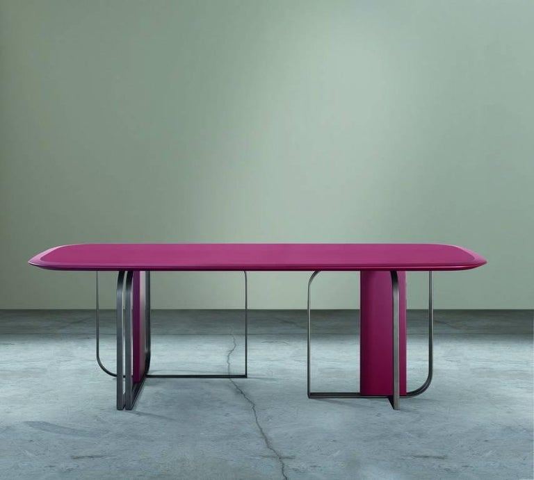 Quot Bon Ton Quot Chalky White Or Purple Table By Baldessari And