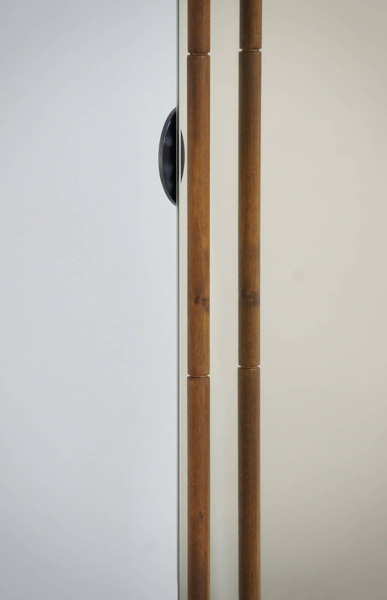 """""""Asas"""" Self-Standing Castored Floor Mirror by Jaume Tresserra for Dessie In Excellent Condition For Sale In New York, NY"""