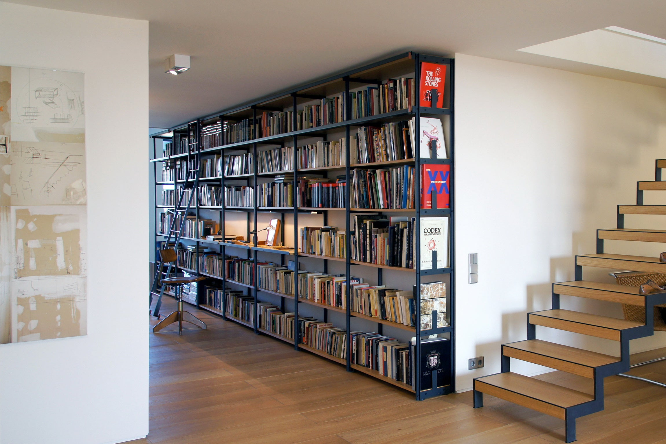 Tecnica Library Modular Shelving Bookcase By Jaume Tresserra For Dessie