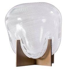 """""""Venturi Tooth Fairy"""" Unique Murano Glass and Metal Vase Designed by Lara Bohinc"""