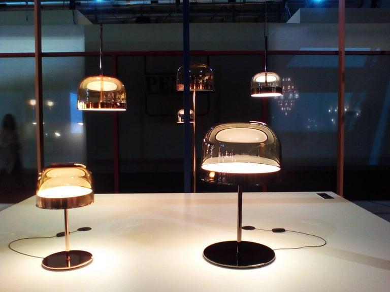 Fontanaarte Quot Equatore Quot Large Glass Pendant Lamp By