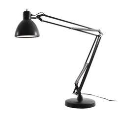 """Naska 1"" Aluminum and Steel Table Lamp Designed by FontanaArte"