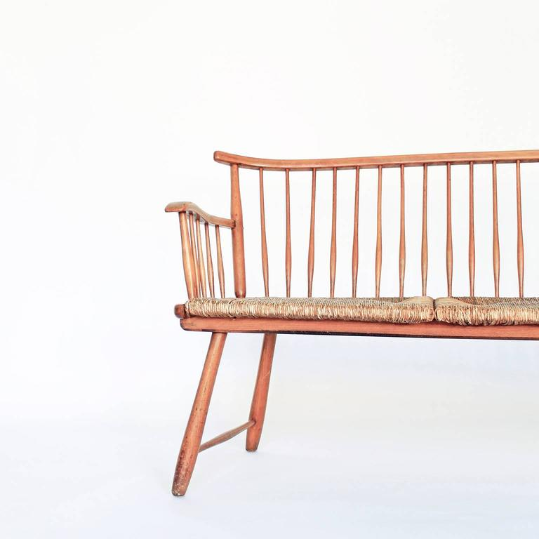 shaker style bench designed by arno lambrecht at 1stdibs