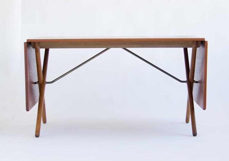 Hans j wegner cross leg dining table by andreas tuck model at 309 this classic hans wegner dining table model at 309 was designed in the watchthetrailerfo
