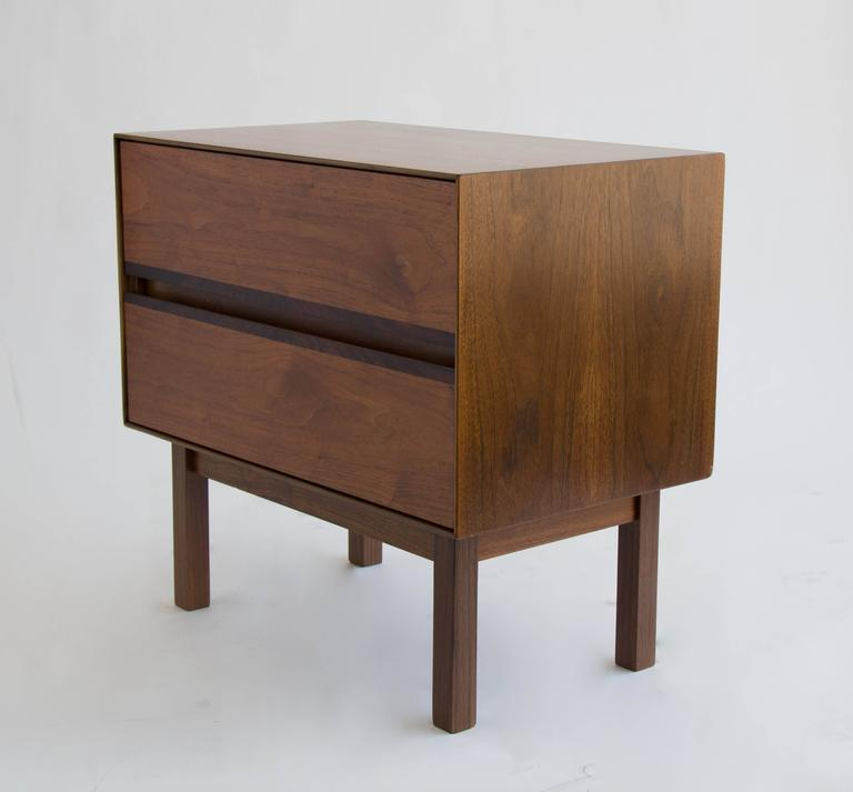 Mid Century Modern H Paul Browning For Stanley Furniture Co Walnut And Rosewood