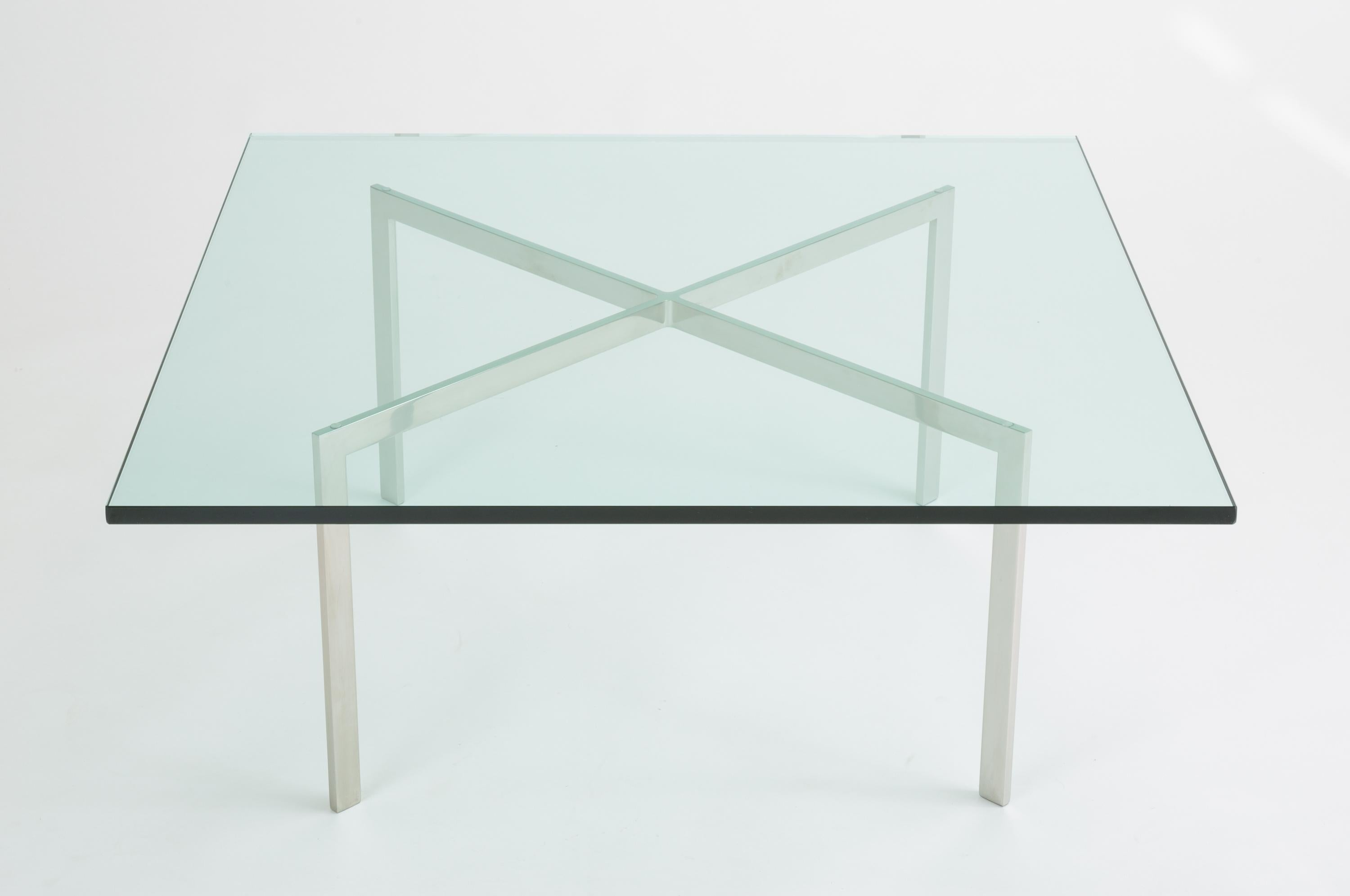 Elegant The Iconic Barcelona Coffee Table From Ludwig Mies Van Der Roheu0027s 1929  Collection. Brought Back