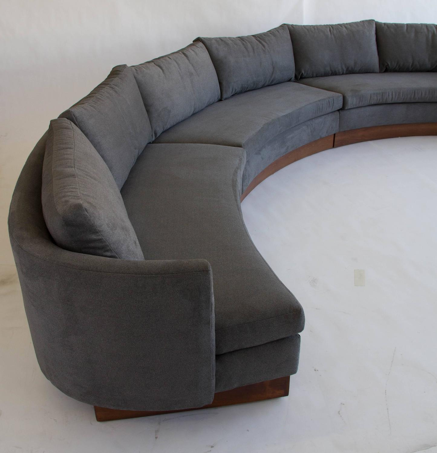 Custom Semi Circular Sectional By Carson S Of North Carolina