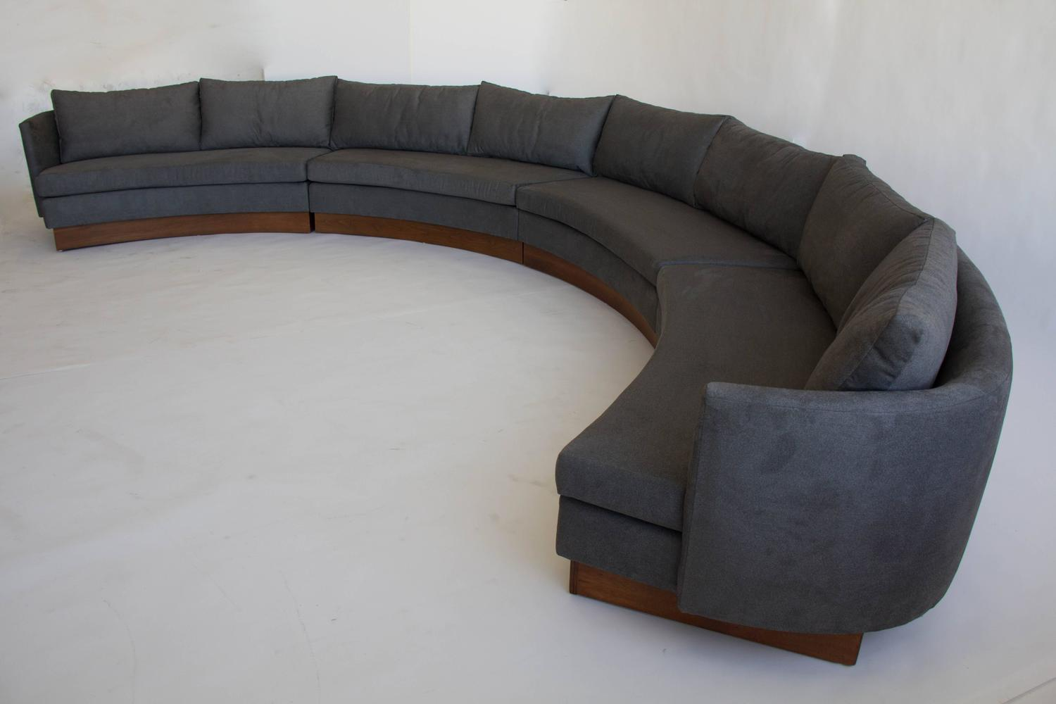 Custom Semi Circular Sectional By Carson 39 S Of North
