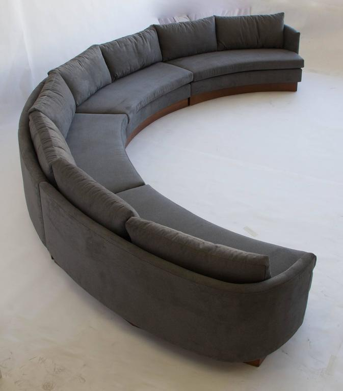 This Large Semi Circular Sofa Was Made By Carson S Of Highpoint North Carolina In The