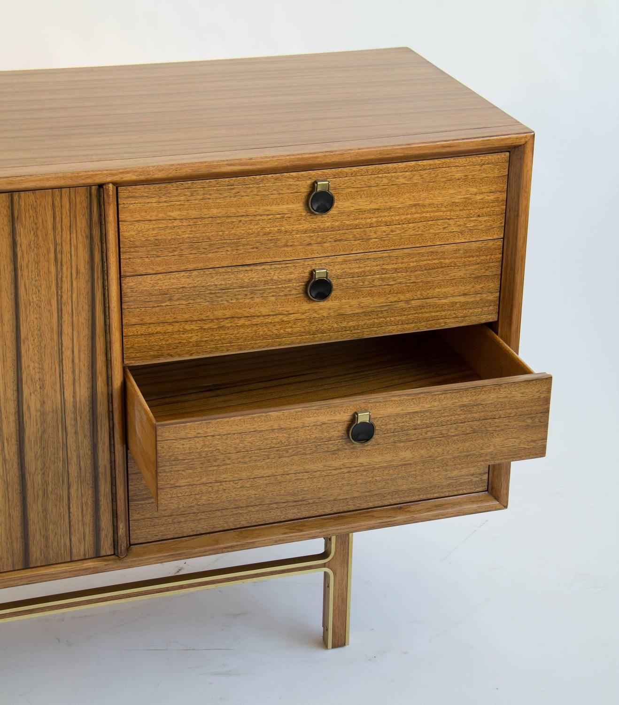 zebra wood credenza dresser at 1stdibs