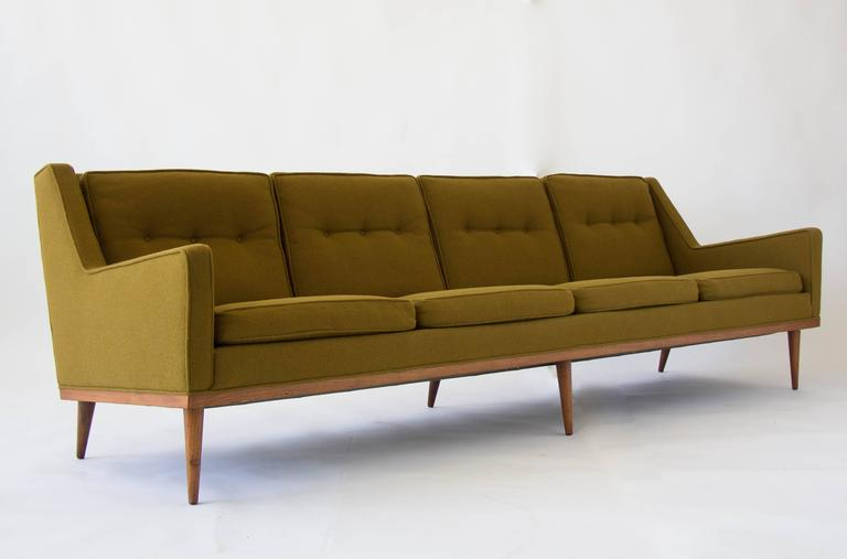 Articulate Sofa By Milo Baughman For James Inc At 1stdibs
