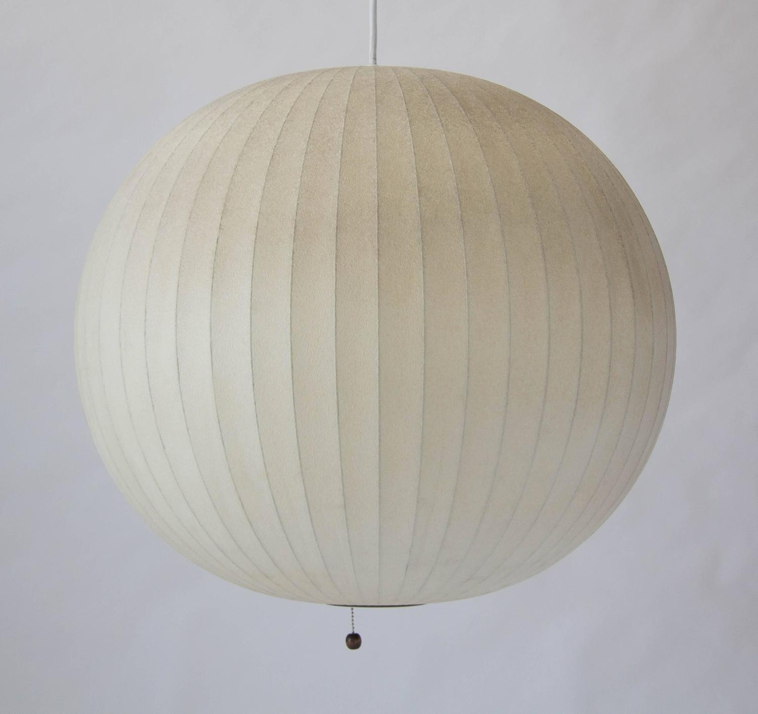george nelson bubble lamp at 1stdibs. Black Bedroom Furniture Sets. Home Design Ideas