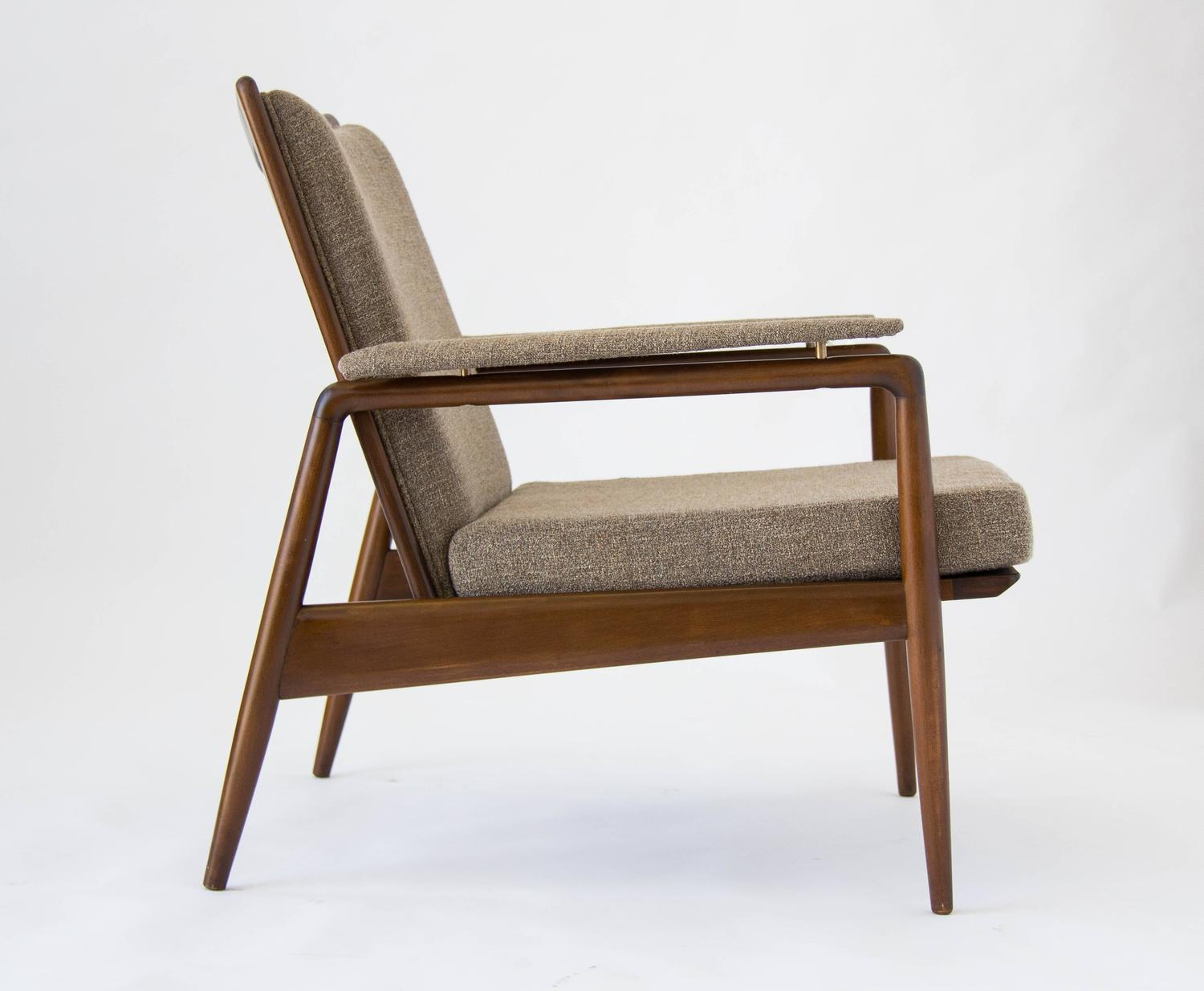 Danish Modern Lounge Chair Imported By Selig For Sale At 1stdibs