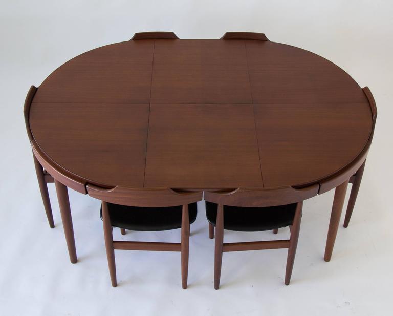 Charming Eight Seat Dining Set By Hans Olsen For Frem Rojle 2