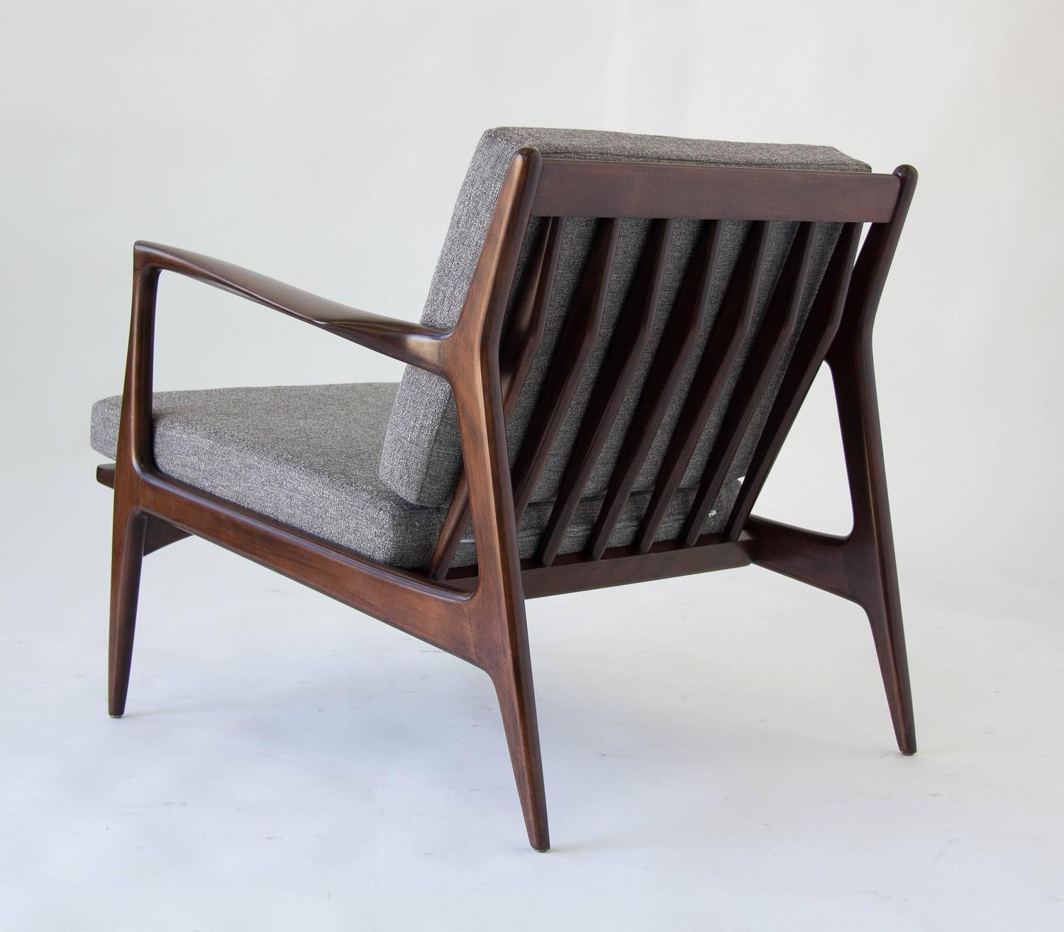 Lounge chair by ib kofod larsen for selig for sale at 1stdibs - Selig z chair for sale ...