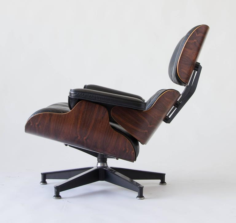 1970s Eames 670/671 Lounge Chair with Ottoman 3