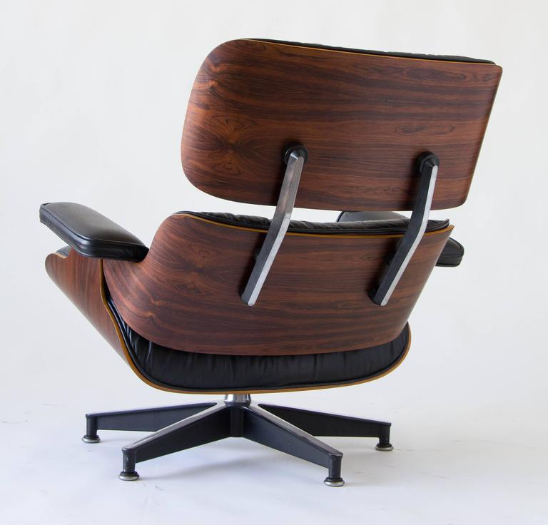 1970s Eames 670/671 Lounge Chair with Ottoman 6