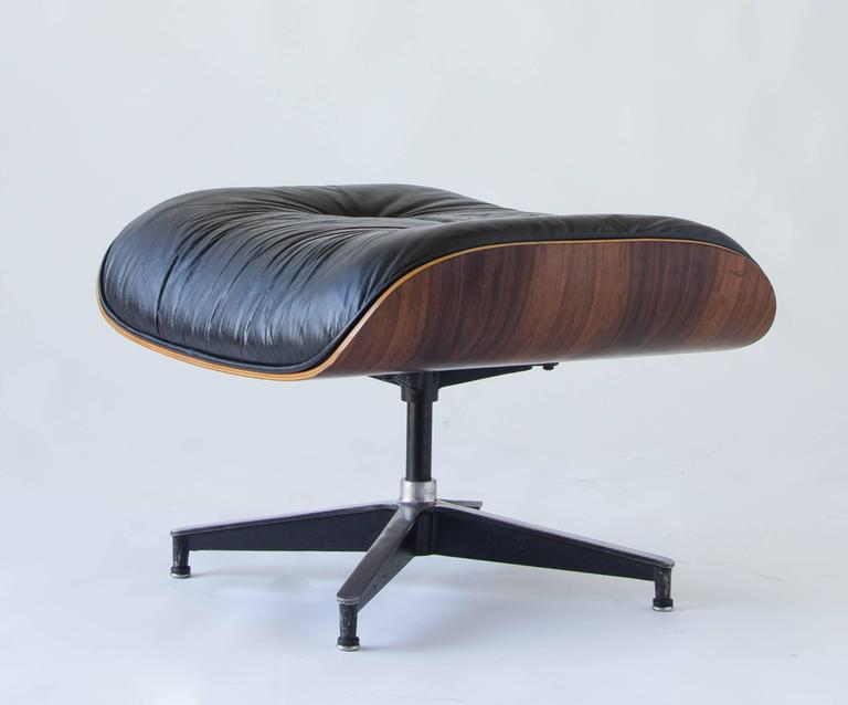 1970s Eames 670/671 Lounge Chair with Ottoman 8
